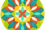 Mandala - Radost<br /> <br /> Patelka, A4<br /> <br /> Na prodej 350 Kč
