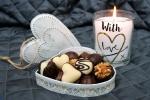 #Srdce #Svíčka #Láska #Večer #DenSvatéhoValentýna